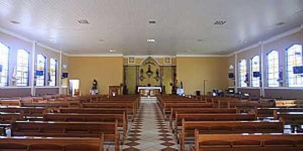 Taquaral-SP-Interior da Matriz do Senhor Bom Jesus-Foto:www.cepam.org