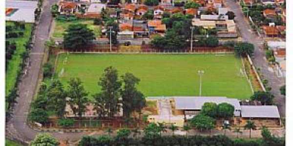 Taquaral-SP-Vista do Campo de futebol-Foto:www.taquaral.sp.gov.br