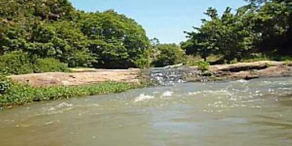Ribeirão do Salto-BA-Cachoeira-Foto:Lidio pessoa ferraz