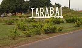 Tarabai - Entrada da cidade-Foto:José Jacy da Silva