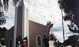 Teçainda - Teçaindá-SP-Igreja de São Pedro-Foto:camarapprudente.sp.gov.br
