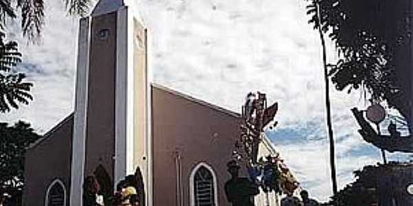 Teçaindá-SP-Igreja de São Pedro-Foto:camarapprudente.sp.gov.br