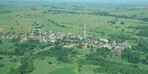 Teçaindá-SP-Vista da cidade-Foto:www.martinopolis.sp.gov.br