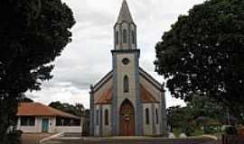 Tibiriçá - Igreja de N.Sra.Aparecida em Tibiriça-Foto:Wilson Alcaras