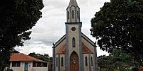 Igreja de N.Sra.Aparecida em Tibiriça-Foto:Wilson Alcaras