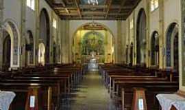 Tietê - Tietê-SP-Interior da Paróquia Santíssima Trindade-Foto:Pe. Edinisio Pereira…