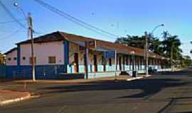 Trabiju - Antiga Estação Ferroviária atual Prefeitura Municipal-Foto:Pedro Aguinaldo