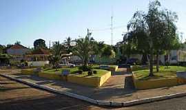 Trabiju - Trabiju-SP-Praça central-Foto:Pedro Aguinaldo