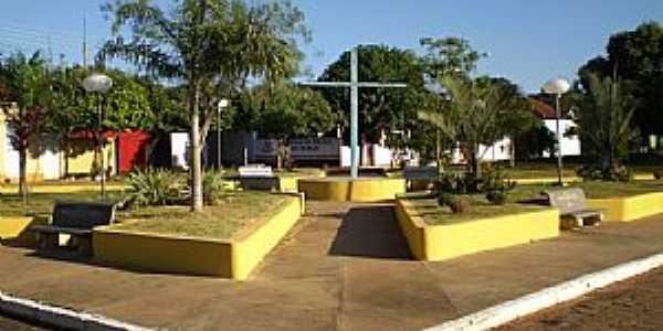 Trabiju-SP-Cruzeiro na Pra�a da Matriz-Foto:Pedro Aguinaldo