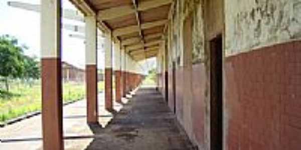 Antiga estação ferroviária, Por Darlei Teixeira.