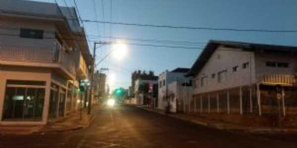 Rua caingangs vista do amanhecer, Por Reinaldo