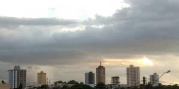 Vista do centro, Por Tupã