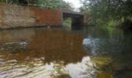 Rio do Ant�nio - ponte indo para a boavista, Por silvano lima