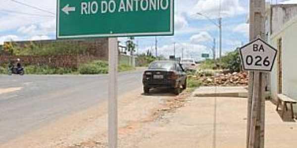 Imagens da cidade de Rio do Antônio - BA
