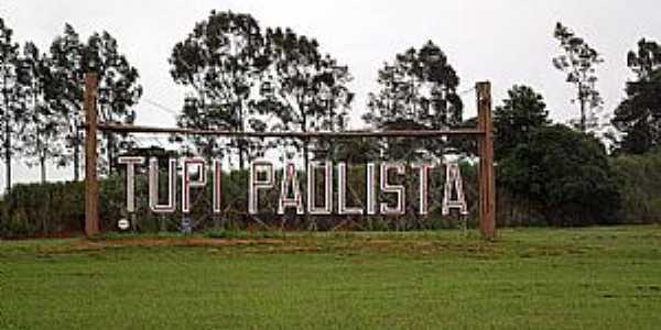 Tupi Paulista-SP-Entrada da cidade-Foto:tupipaulista.sp.gov.br