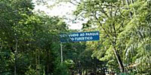 Estrada do Parque Eco-Turístico em Valentim Gentil-SP