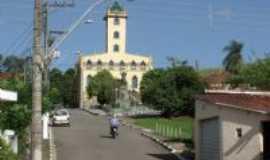 Vargem - Igreja de Vargem ap�s reforma, Por Emanoel de Lima