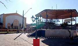 Vargem Grande Paulista - Vargem Grande Paulista-SP-Coreto na praça da matriz-Foto:vargemgrandepta.sp