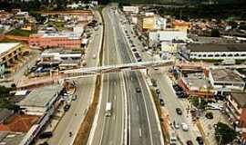 Vargem Grande Paulista - Vargem Grande Paulista-SP-Rodovia Raposo Tavares no centro da cidade-Foto:vargemgrandepta.sp