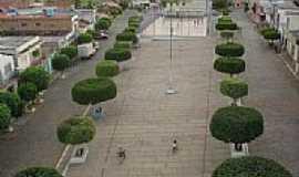 Rio do Pires - Praça central-Foto:Regi Madureira