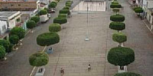 Praça central-Foto:Regi Madureira