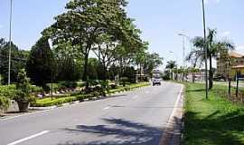 Vinhedo - Vinhedo-SP-Avenida de entrada da cidade-Foto:Carlos Fante
