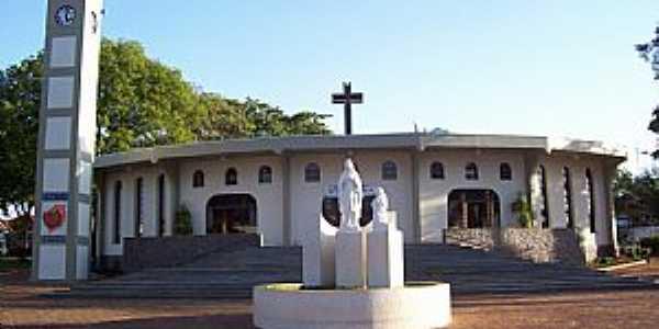 Viradouro-SP-Igreja Matriz-Foto:Roger Gibran Viola