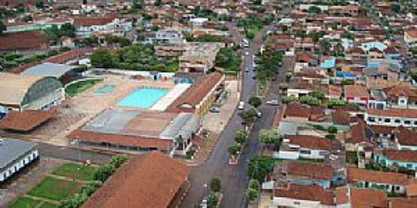 Viradouro-SP-Vista da antiga Estação Ferroviária hoje Centro Cultural-Foto:dj marcelo pulzzi