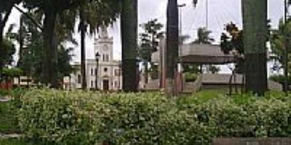 Praça da Matriz-Foto:Luís Pedrassoli Fran…