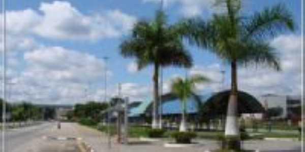 vista parcial da Praça de Eventos, Por Adriana Rodrigues Boguchesky de Oliveira