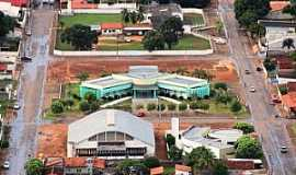 Alvorada - Alvorada-TO-Vista aérea do centro-Foto:www.alvorada.to.gov.br