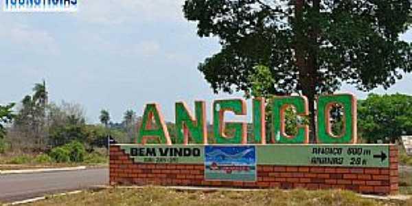 Angico-TO-Entrada da cidade-Foto:www.tocnoticias.com.br