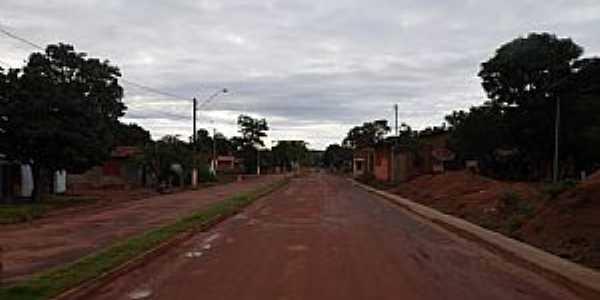 Aparecida do Rio Negro-TO-Avenida na entrada da cidade-Foto:ernesto.palmas