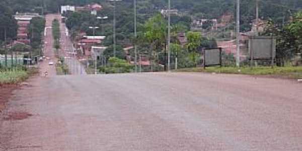Aparecida do Rio Negro-TO-Entrada da cidade-Foto:ernesto.palmas