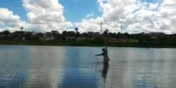 Pescador representando joão de Deus, Por Paulo Lemos