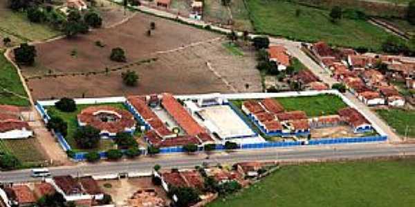 Lagoa da Canoa-AL-Vista aérea das Escolas do Município-Foto:oliveira.clebson