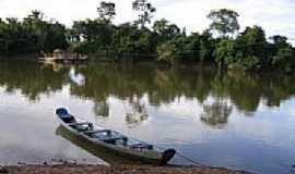Apinajé - Balsa no Rio Manoel Alves-Foto:Ana Cláudia Neuwald