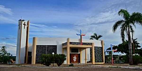 Araguaçu-TO-Igreja Matriz-Foto:Arolldo Costa Oliveira
