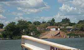 Araguanã - Araguanã-TO-Chegada da Balsa-Foto:cesinhajr
