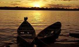 Araguanã - Araguanã-TO-Lindo Pôr do Sol no Rio Araguaia-Foto:Thiago Sá