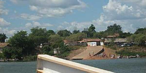 Araguanã-TO-Chegada da Balsa-Foto:cesinhajr