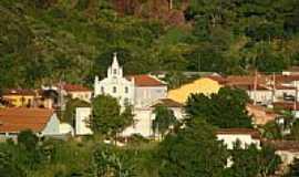 Arraias - Igreja Matriz vista da estrada interestadual em Arraias-TO-Foto:Dimas Justo