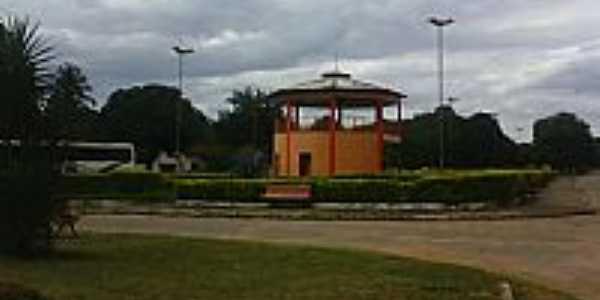 Aurora do Tocantins-TO-Coreto na Praça Central-Foto:Mano B