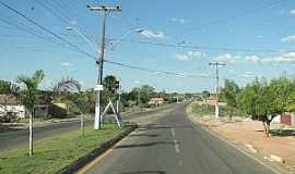 Axixá do Tocantins - Axixá do Tocantins-TO-Avenida de entrada da cidade-Foto:Caio Graco Machado