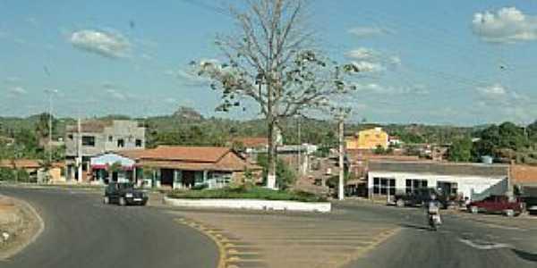 Axixá do Tocantins-TO-Trevo de entrada da cidade-Foto:Caio Graco Machado