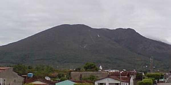 Ruy Barbosa-BA-Vista parcial da cidade e da Serra do Orobó-Foto:Andre L. S. Lacerda