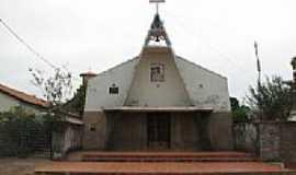 Buriti do Tocantins - Igreja Cat�lica em Buriti  por Elvis Antonio Ferreira