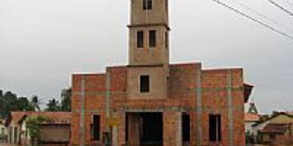 Templo Católico em Construção por Elvis Antonio Ferrei