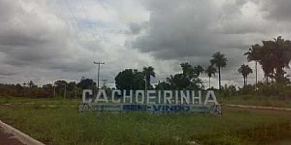 Cachoeirinha-TO-Entrada da cidade-Foto:amarildo Varela