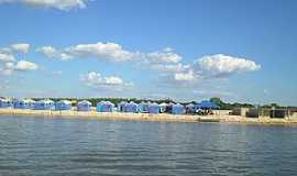 Caseara - Estrutura bonita da Praia de Caseara - TO Por Gon�alvesTo